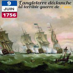 Le 9 juin 1756, alors que les deux pays sont en paix, l'Angleterre s'empare de bateaux français prés des côtes canadiennes. Cette guerre qui va durer 7 années, prend sa source dans les rivalités coloniales entre la France et le Royaume-Uni. Elle peut être considérée comme le premier conflit à l'échelle mondiale : il se déroule en Europe, sur terre comme sur mer, mais aussi en Amérique et en Asie. La Grande-Bretagne et la Prusse font figure de gagnants contre la France et l'Autriche.