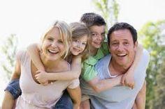 Tener una hermosa familia