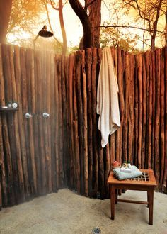 bamboo outdoor showers - Google Search