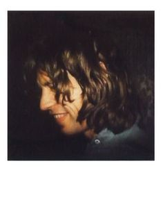 Mick Jagger // Polaroids by Andy Warhol