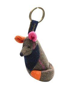 Cute Hardy Tweed Fox Key Fob, $7 off.