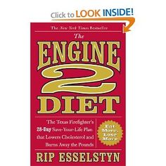 The Engine 2 Diet - The book from the movie Forks Over Knives. Would LOVE to do this, but man, a plant strong diet is TOUGH!