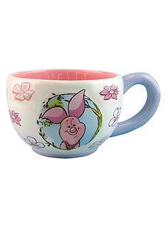 Disney Winnie The Pooh Piglet Teacup Hot Topic Winnie The Pooh Mug, Winnie The Pooh Friends, Pooh Bear, Disney Winnie The Pooh, Picture Mugs, Disney Coffee Mugs, Disney Cups, Teapots And Cups, Teacups