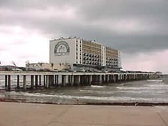 Galveston, Texas. 2006  Flagship Hotel before Hurricane Ike 2008 destroyed her. Now the Pleasure Pier