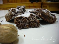le tenere dolcezze di resy: American brownies alle noci