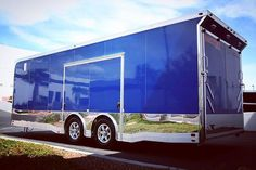 2014 Becker Custom Becker for sale in Las Vegas Nevada - United States Best Trailers, Custom Trailers, Camper Trailers, Trailer Plans, Car Trailer, Aluminum Trailer, Food Truck Design, Rv Accessories, Toy Hauler