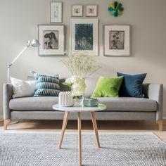 Kauniiden yksityiskohtien koti Decor, Living Room, Furniture, Interior, Home Decor, Interior Design, Couch