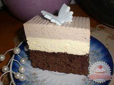 Boema szelet Romanian Food, Cake Cookies, Cooking Recipes, Sweets, Baking, Pastries, Cakes, Good Stocking Stuffers, Bakken