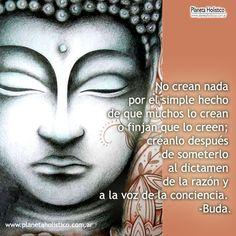 Frase de Buda - No crean en nada