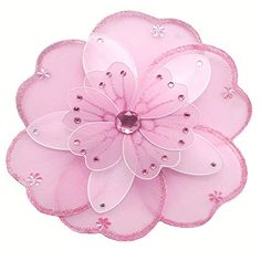 "Hanging Flower 10"" Medium Pink White Triple Layered Nylon Mesh Flowers Decorations Decorate Baby Nursery Bedroom Girls Room Ceiling Wall Decor Wedding Birthday Party Baby Shower Bathroom Kid Child 3D Art Bugs-n-Blooms http://www.amazon.com/dp/B0042Z8LDW/ref=cm_sw_r_pi_dp_DEV9wb0K664JS"