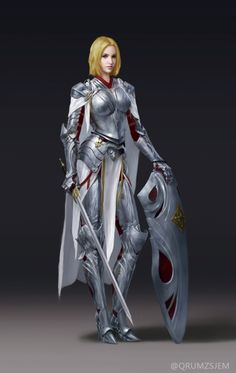 Zezhou_Chen_Concept_Art_Illustration_10 #fighter #paladin