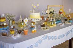 Festa de aniversário de margaridas