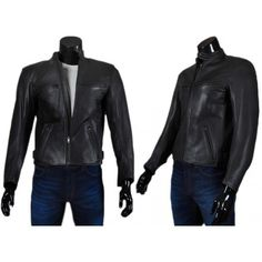 Deniro - Men's Leather Motorcycle Jackets www.laroxy.com
