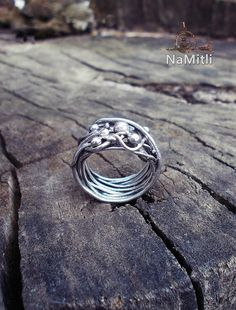 Wire Boho Ring  Sterling Silver Rings Boho Jewelry  Ring