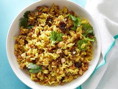 Coconut-Curry Wheat Berries and Rice Recipe : Food Network Kitchen : Food Network - FoodNetwork.com