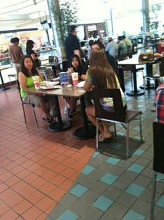 Sit with a random family in the food court at the mall and start a conversation. Photo Scavenger Hunt, Scavenger Hunts, Food Court, Mall, Conversation, Bucket, Random, Fun, Buckets
