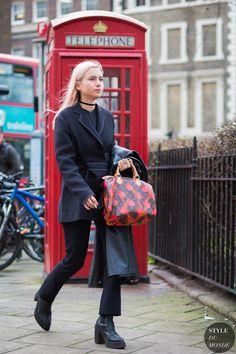 Isabella Burley Street Style Street Fashion Streetsnaps by STYLEDUMONDE Street Style Fashion Photography