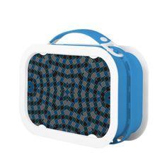 kaleido art rectangles blue