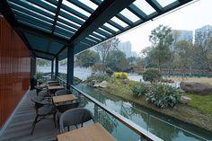 Starbucks Chengdu Tianfu Riverfront store, China coffee tea cafe