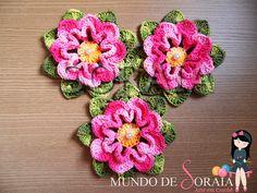 Coleção Flores – Flor Gérbera | Mundo de Soraia