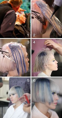 We love, love, love this step by step! Check out how to do this feminine and colorful hairstyle!