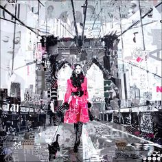 Where To Be - derek gores collage