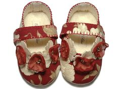 Lily Baby Girl Shoes/Booties/Slippers Infant Sizes ♥ by Pink2Blue, $40.00
