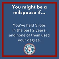 Milspousefest - The modern network for military spouses and families. Military Memes, Military Spouse, Military Life, Semper Gumby, Airforce Wife, To Do This Weekend, Army Life, Make It Through, Something To Do