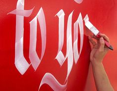 Calligraphy Artworks by Luca Barcellona