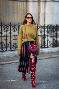 Day 3 | Paris Fashion Week Street Style Spring 2018 | POPSUGAR Fashion Photo 207