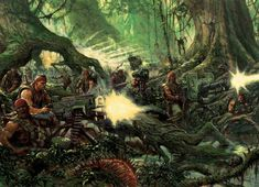 front-line-head-line: Thought of the Day: Fear not the creatures of the jungle but those that lurk within your mind.