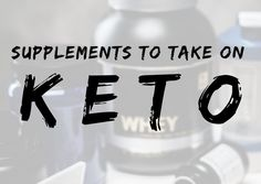 Keto and Supplements. Personally I have never been a fan of taking crazy amounts of supplements and always had a hard time sticking with them. From what I have learned over my years as a profession…