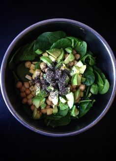 Protein-Packed Spinach Salad