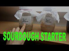 Sourdough starter - recipe - YouTube
