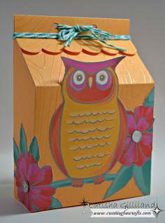 box by Latisha Gilliland using CTMH Dream Pop paper