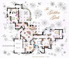 More Fictional Floor Plans | Architecture