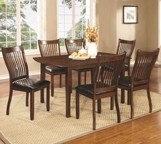 Sierra Dining Room Set | Coaster Furniture | Home Gallery Stores Dining  Chairs, Furniture Dining