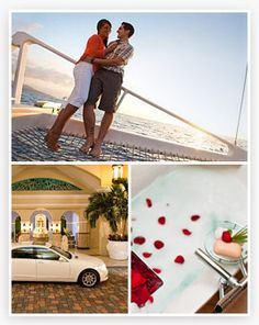 Sandals Honeymoon Registry, your guests give you parts of your honeymoon, like a day at the spa or horseback riding lessons, instead of a toaster. Sounds awesome!