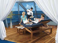 Sun Deck & Service  #visoncruise #cruise #oceaniacruises