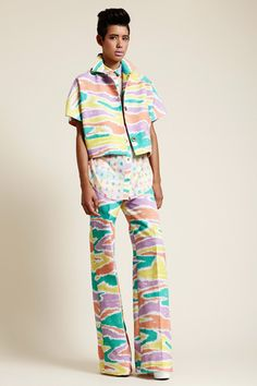 Love the colors and prints!Tribune Standard Spring 2014 Ready-to-Wear Collection Slideshow on Style.com