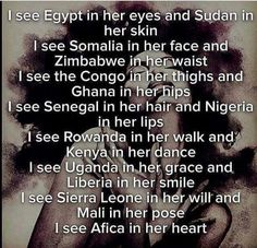 Afrika is the birthplace of the human race. Black Art, Black Women Art, Black Power, Black Girls Rock, Black Girl Magic, Parks, Black Quotes, Black History Facts, Black Pride