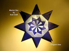 Origami, Fleurogami und Sterne: Maria's Star