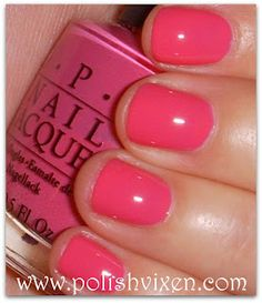 OPI Strawberry Margarita...just bought this color and can't wait to put it on!