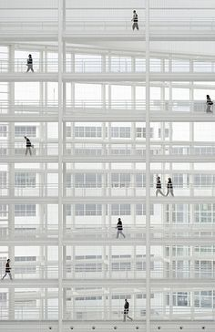 by Richard Meier - Sense of scale, city hall The Hague, The Netherlands