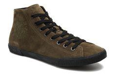 Top Sneakers Dirkie van Kenzo (Groen) Sneakers van het merk Kenzo voor Heren . Uitgevoerd in Groen gemaakt van Nubuck.