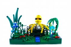 Octopus's Garden: A LEGO® creation by Grace Pointner : MOCpages.com
