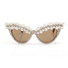 pearl embellished sunglasses