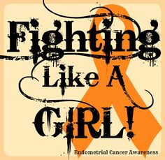 There isn't many graphics for Endometrial Cancer Awareness... so I made a few. Feel free to share!