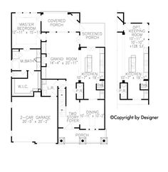 Southern Traditional Tudor Level One of Plan 97633