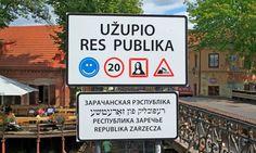 #Ужупис #Вильнюс #Литва